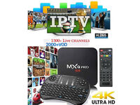 ANDROID TV BOX PLUS 12MTH IPTV GIFT