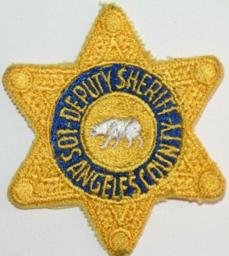 Los Angeles Deputy Sheriff Patch (US American California patch)