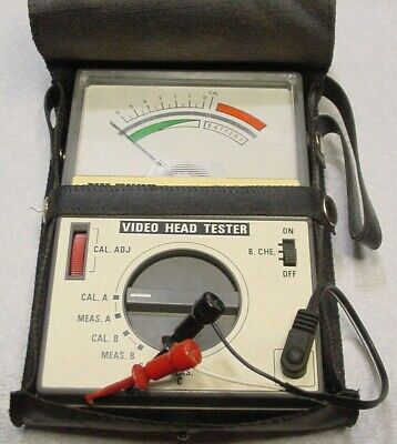 Video Head Tester By Yu Fung Yf-225 For Vhs Tape Heads Wvinyl Case