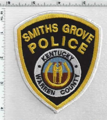 Smiths Grove Police (Kentucky) 1st Issue Shoulder Patch