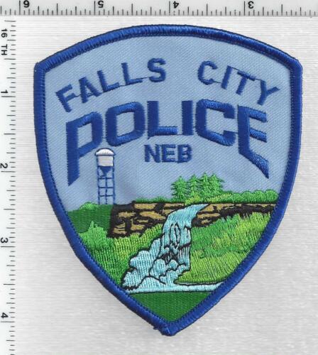 Falls City Police (Nebraska) 1st Issue Shoulder Patch
