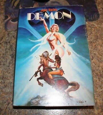 1984 Demon John Varley science fiction HCDJ - f