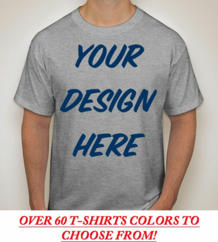 150 Custom Screen Printed COLOR T-Shirts - $3.25 each