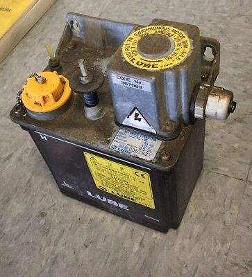 Lube Corp Automatic Lubricator Mmxl-iii 200v 15 Min Interval Free Shipping
