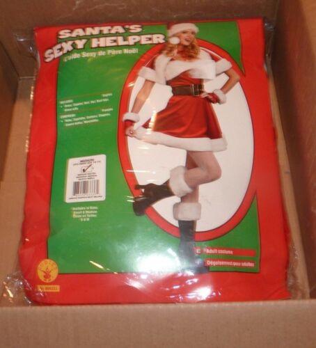 NEW RUBIES Santa Sexy Helper Women Ladies Costume M Medium Dress Size (10-14 NWT