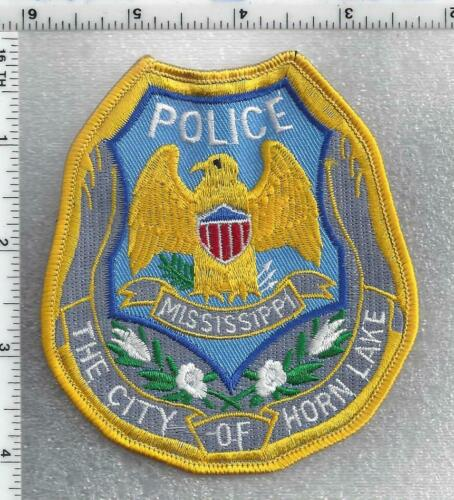 The City of Horn Lake Police (Mississippi) 1st Issue Shoulder Patch