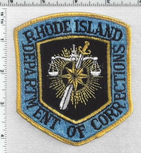 Department of Corrections (Rhode Island) 1st Issue Shoulder Patch