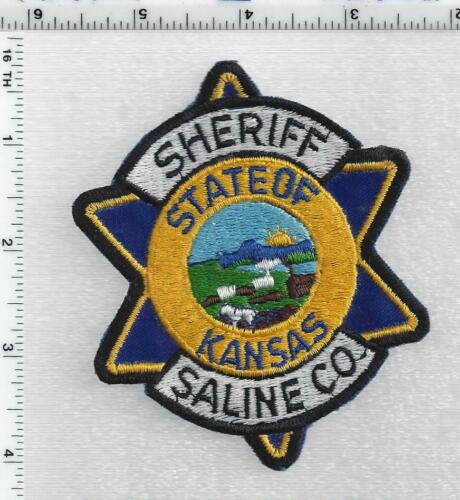 Saline County Sheriff (Kansas) 1st Issue Shoulder Patch