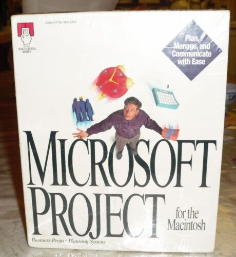 Microsoft Project 3.0 for the Macintosh