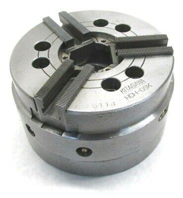 Kitagawa Hoh-06k Three-jaw Counter Balanced Cnc Lathe Power Chuck W A2-5 Mount