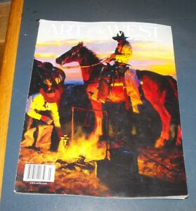art of the west magazine jul aug 2006 one for the road by. Black Bedroom Furniture Sets. Home Design Ideas