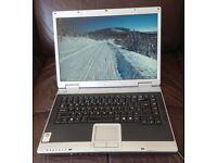 Evesham Tiny Rock 8050D ATi 9700 Laptop Widescreen Wifi DVD Cheap