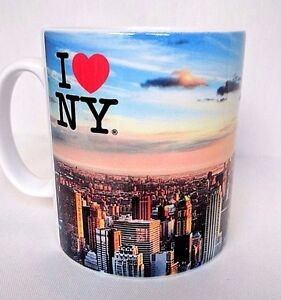 I Love New York Coffee Tea MUG CUP - NYC Gifts - New York City - Novelty Gift