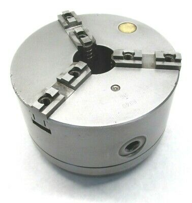 Bison 6-14 Three-jaw Lathe Chuck W Hardinge 2-316-10 Threaded Mount