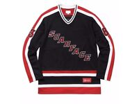 Supreme X Scarface Hockey Jersey Black Size L Large Brand New FW17 SOLD OUT