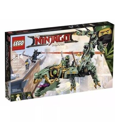 New Lego The Ninjago Movie 70612 Green Ninja Mech Dragon