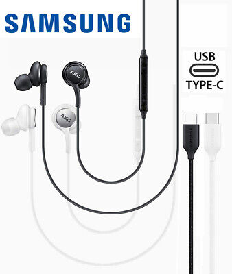 Samsung Galaxy Note 10+ Plus AKG Earphones Earbuds Type C Headphone Original