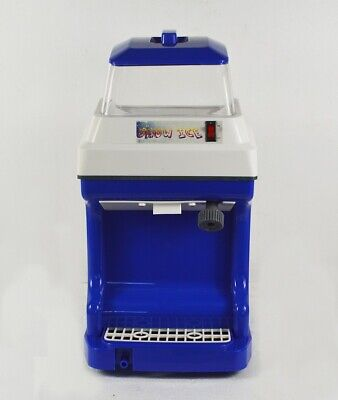 Tabletop Electric Ice Crusher Machine Shaver Shaved Ice Snow Cone Maker 025154