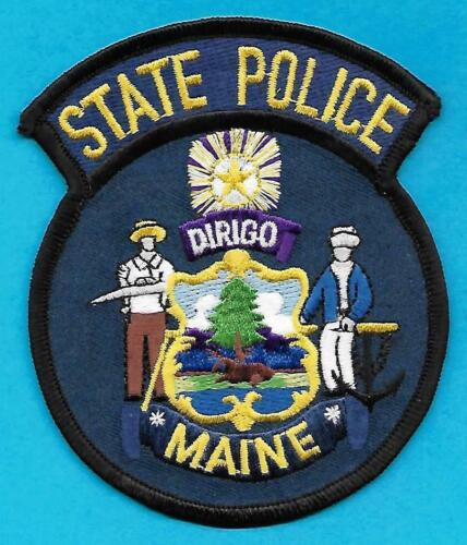 ME Maine NEW Obsolete State Police Shoulder Uniform Patch