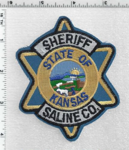 Saline County Sheriff (Kansas) 2nd Issue Shoulder Patch