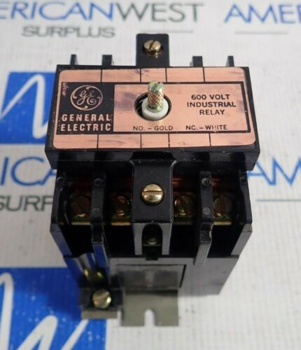 GE General Electric CR120B 040 Series A Contactor 110/120V Coil