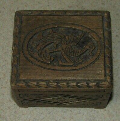 Free Shipping Keepsake Ring Box Fish Hook Heart Ring Box with Initials Rustic Wood Ring Box