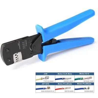 Waldom W-HTR-2262 Production Hand Crimper Crimping Tool HTR 2262 11-01-0006