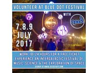 Volunteer at Bluedot Festival