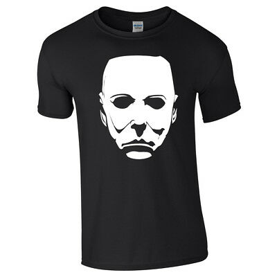 MIKE MICHAEL MYERS Halloween TSHIRT TOP Horror Movie Cult H2O Classic Retro Film