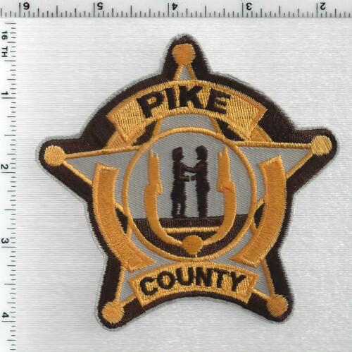 Pike County Police (Kentucky) 4th Issue Shoulder Patch