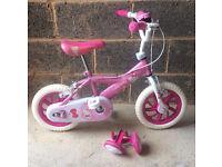 """Girls Hello Kitty 12"""" Bike"""