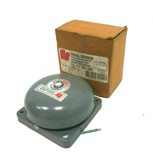 NEW FEDERAL SIGNAL 504-120-1 VIBRATING BELL 5041201
