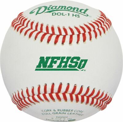 Diamond DOL-1 NFHS/NOCSAE Official League Baseball (Dozen)