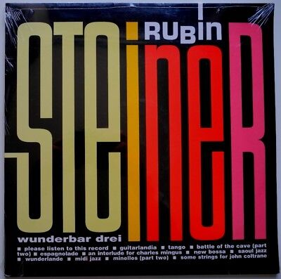 2 x LP FR**RUBIN STEINER - WUNDERBAR DREI (PLATINUM / BMG '02)**27977