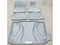 BMW F25, F26, X3 X4 All weather foor mats and heavy duty boot liner
