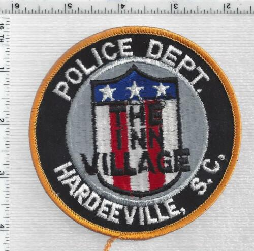Hardeeville Police (South Carolina) 3rd Issue Shoulder Patch