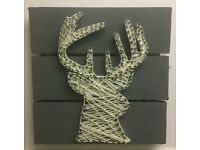 Stags Head Wall Art ( Can Deliver )