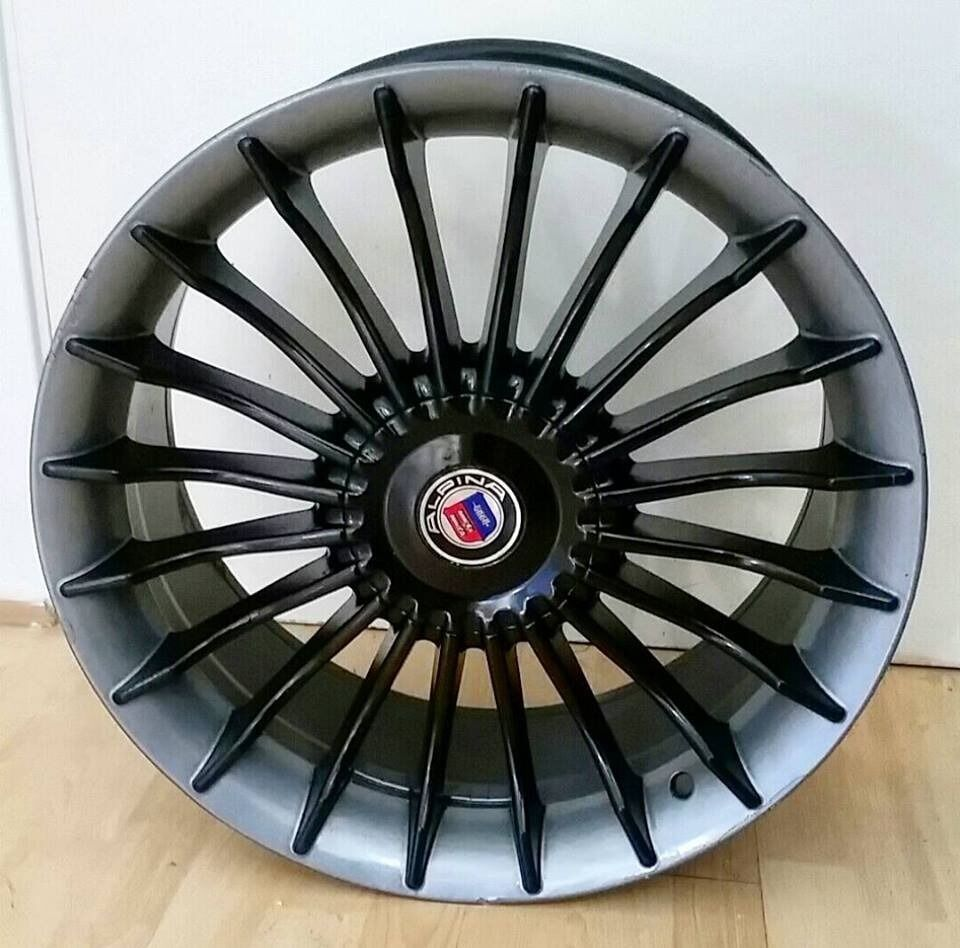 BMW ALPINA STYLE INCH ALLOY WHEELS E E E M SERIES - Bmw alpina rims for sale