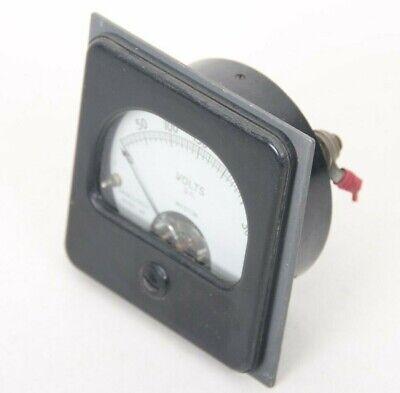 Vintage Weston Direct Current Volts Panel Meter Gauge 0-300 Model 301 1000volt