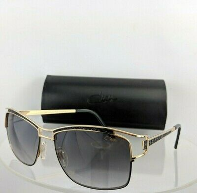 Brand New Authentic CAZAL Sunglasses MOD. 9049 COL. 001 Gold & Black Frame (New Cazal Sunglasses)