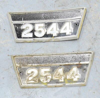 2544 International Ih 2 Emblems