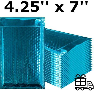 Bubble Mailers 4 X 7 Padded Envelopes Teal Shipping Envelopes Small Quantity