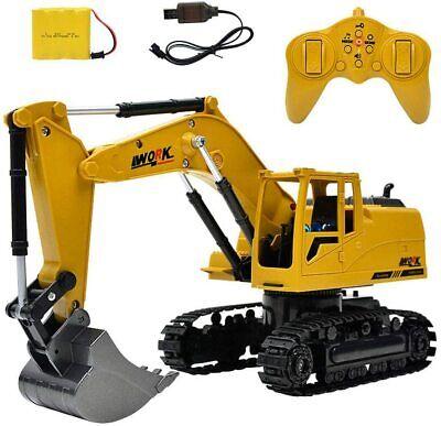 8 Canal Control Remoto Excavadora RC Camión Tractor Vehículos de Construcción