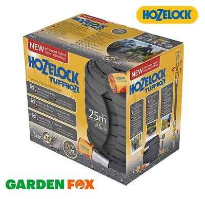 new HOZELOCK Watering TUFFHOZE Hose 25 Metres - 8125 - 5010646061056 .