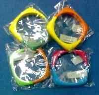 Stock 12 Bracciali Assortiti Plastica Colorata Nuovo -  - ebay.it