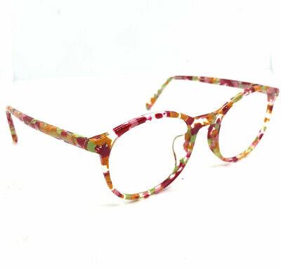 Jins LCF-18S 813A Eyeglasses Frames Pink Orange 52[]21 142 (Jins Glasses)