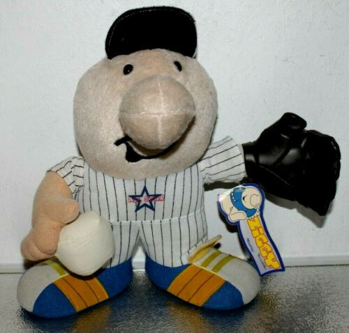 "NEW Baseball All-Star ZIGGY 10"" Stuffed Plush Toy Doll 2004 Kellytoy Tag"