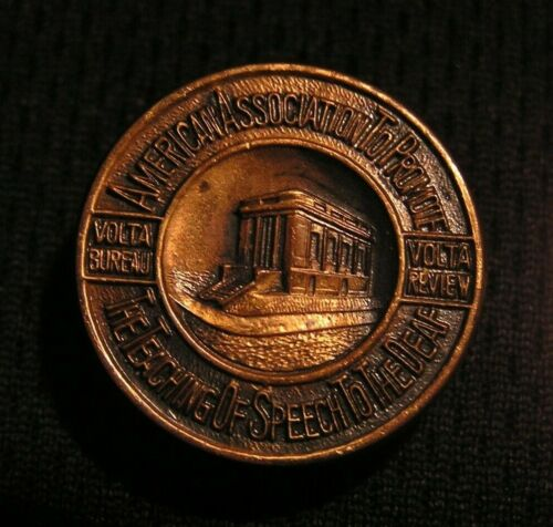 VINTAGE AMERICAN ASSOCIATION TO PROMOTE THE TEACHING OF SPEECH TO THE DEAF PIN