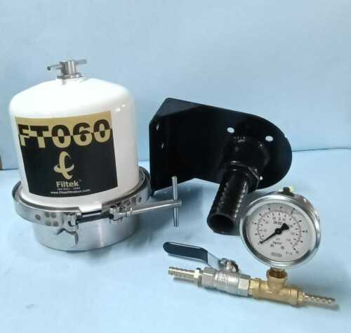 420 LPH Centrifuge With Mounting Kit, Valve, Pressure Gauge, adapter & Fittings