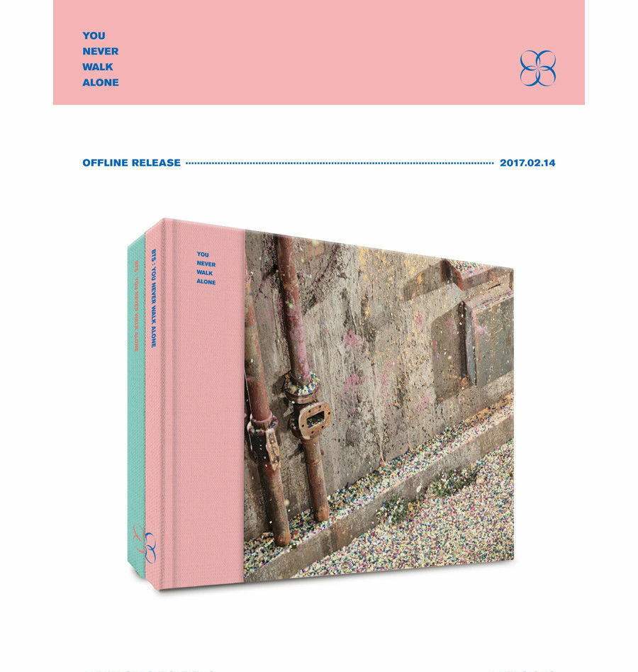 BTS [YOU NEVER WALK ALONE] Album LEFT Ver. CD+Photo Book+Card+GIFT CARD SEALED